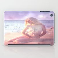 daenerys targaryen iPad Cases featuring Contemplate by SuzanneCarter