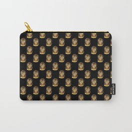 Michelle (black background) Carry-All Pouch