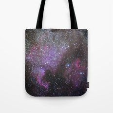North America Nebula and Pelican Nebula Tote Bag