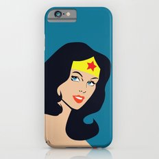 Fan art - Woman of Wonder - Superhero iPhone 6s Slim Case
