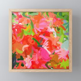 Preconceived Blossom #abstract #painting Framed Mini Art Print