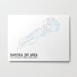 Nakiska, Alberta, Canada Metal Print