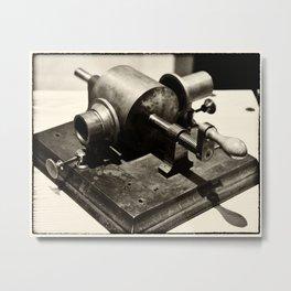 Phonograph Prototype Metal Print