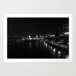 River Thames #2 Art Print