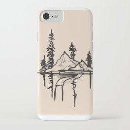 Abstract Landscpe II iPhone Case
