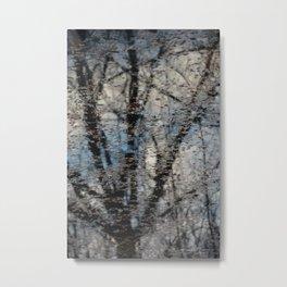 Paris, trees Metal Print