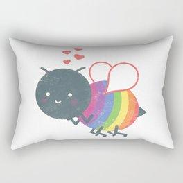Bee Yourself! Rectangular Pillow