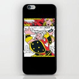 Leeeeee-ROY Lichtenstein!!! iPhone Skin