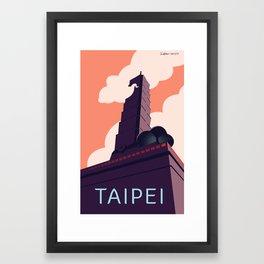 Taipei Framed Art Print