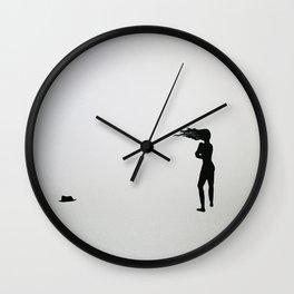 His Wall Clock