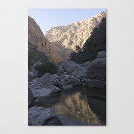 Wadi Shab, Oman Canvas Print