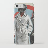 superheroes iPhone & iPod Cases featuring Superheroes SF by Troy DeRose