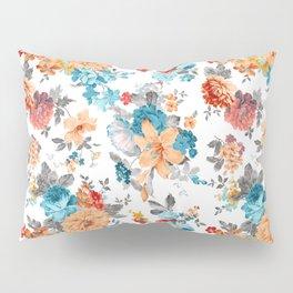 Seamless Floral Pattern Pillow Sham