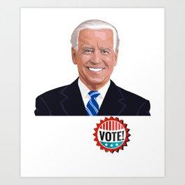 Joe Biden 2020 - Democratic Party President Art Print