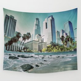 Surf City L.A. Wall Tapestry