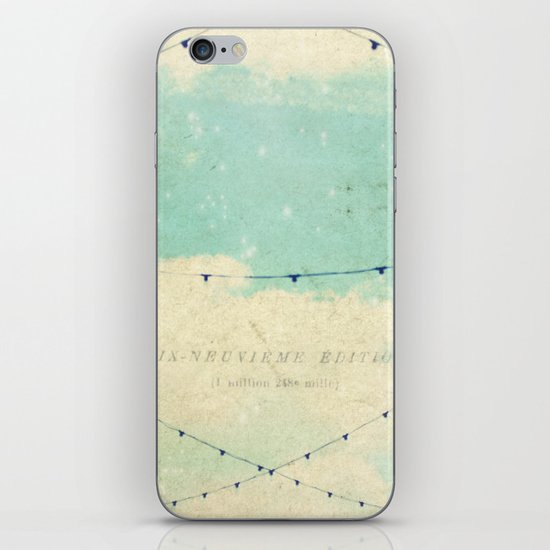 magical lights iPhone & iPod Skin