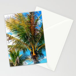 Palms at Midmorning Stationery Cards