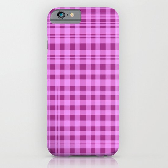 Purple Checkers. iPhone & iPod Case