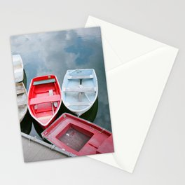 Coastal Boats in Marblehead, MA | Film Photography Stationery Cards
