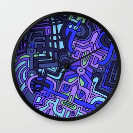 BAD KIDS Wall Clock