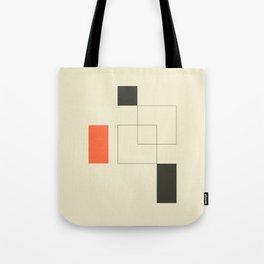 Geometric Abstract Art Tote Bag