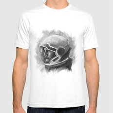 Go Get Her, CASE. MEDIUM Mens Fitted Tee White