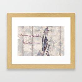 Phenomenal Woman Framed Art Print