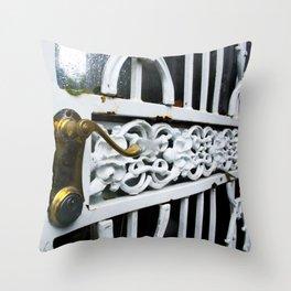 Cast iron Entry Throw Pillow