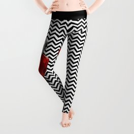 Homage to Twin Peaks - Fire walk with me Leggings