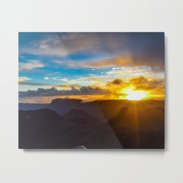 Coromanel Sunset Metal Print