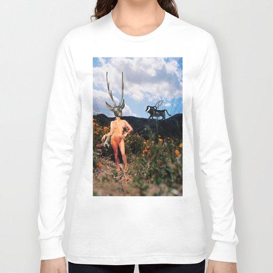 Watch Where You Walk Long Sleeve T-shirt