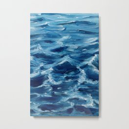 Acrylic wave Metal Print