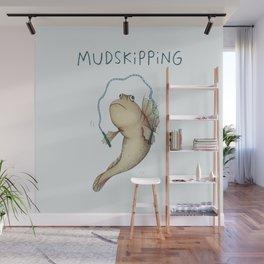 Mudskipping Wall Mural