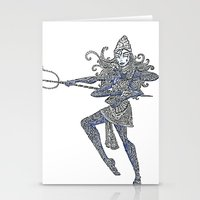 shiva Stationery Cards featuring Shiva by KittenDCute