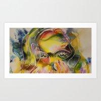 Adelle Art Print