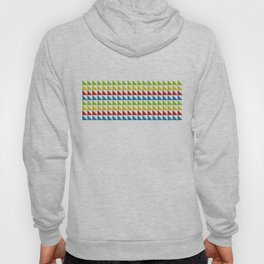 Four Tone Triangles Hoody