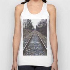 Train Tracks Unisex Tank Top