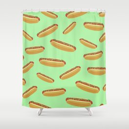 Hot Dogs Shower Curtain