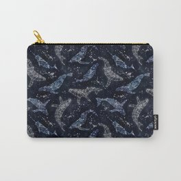 Whale constellations Carry-All Pouch