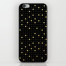 Pin Points Gold iPhone & iPod Skin
