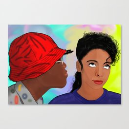 A Different World- Mr. Wayne and Ms. Gilbert Canvas Print