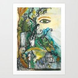 Soul of Snape Art Print