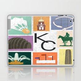 Kansas City Landmark Print Laptop & iPad Skin