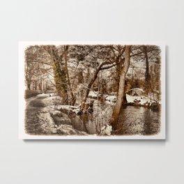 'Lazy River' Metal Print
