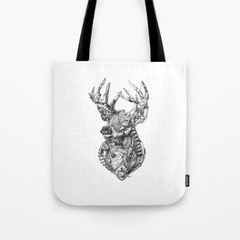 Deer Diary Tote Bag