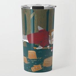 LumberJack Shark Travel Mug
