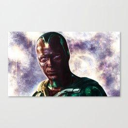 Age of Ultron - Vision Canvas Print