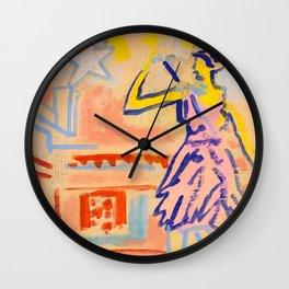 European Capital - Luxemburg Wall Clock