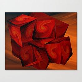 Cubist Canvas Print