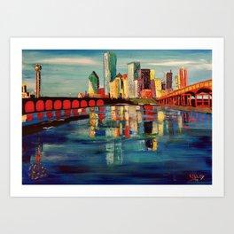 Expression Dallas Art Print